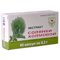Солянка холмовая экстракт, 60 капс. (Сустамед)