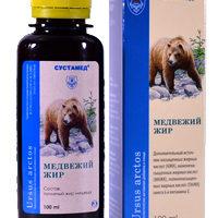 Медвежий жир 100 мл. Стекло Белов