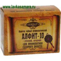 Алфит №10 Диабетический  (60 брикетов)