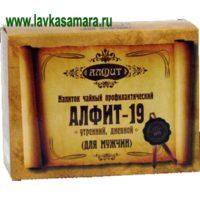 Алфит №19 Мужской  (60 брикетов)