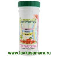 Клетчатка Сибирская СУПЕРБРУСНИКА 280 гр.
