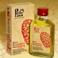 Кедровое масло холодного отжима, Радоград 100 мл.
