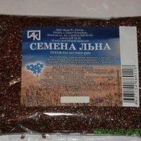"Лен коричневый, семена, 200г. (пакет) ""Василева слобода"""