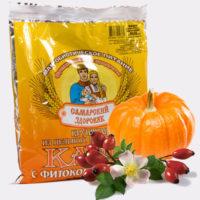 Каша Здоровяк №54 Пшенично-овсяная с тыквой и шиповником 240 гр.