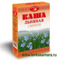 "Каша ""Добрый лен"" с амарантом (Масляный король) 400 гр."