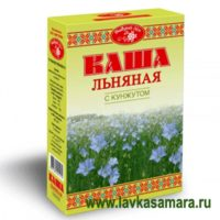 "Каша ""Добрый лен"" с кунжутом (Масляный король) 400 гр."