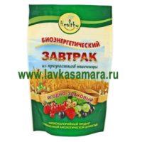 Биоэнергетический завтрак из проростков пшеницы с ананасом, 300 гр.
