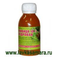 Живица кедровая 10% на пальмоядровом масле (Мелмур) 120 мл.