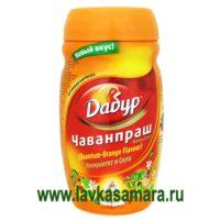 Чаванпраш Авалеха Специаль со вкусом апельсина 500 мл.
