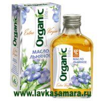 Льняное масло Organic 100 мл. стекло (Специалист)