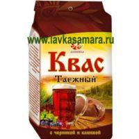 """Квас """"Таежный"""" с ячменным и ржаным солодом и ягодами, 700 гр. (Дивинка)"""