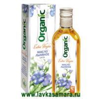 Льняное масло Organic 250 мл. стекло (Специалист)