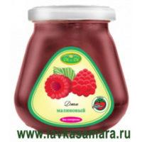 Джем малиновый со стевией (без сахара, глютена) 300 гр. (Di&Di)