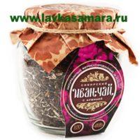 Сибирский Иван-чай ферментированный С ДУШИЦЕЙ, 100 гр. (банка)
