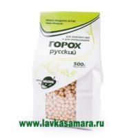 Горох русский, зерно для проращивания, 500 гр. (Образ жизни)