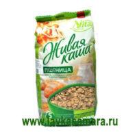 Живая каша Vita 100% Микс пророщенное зерно плюс хлопья ПШЕНИЦЫ, 300 гр.
