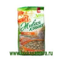Живая каша Vita 100% Микс пророщенное зерно плюс хлопья РЖИ, 300 гр.