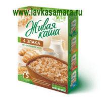Живая каша Vita 100% 4 злака (из пророщенного зерна), 300 гр.