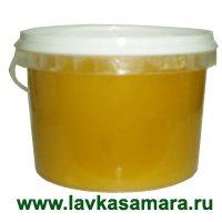 Мед пчелиный алтайский 1,3 кг (гречишный, №2)